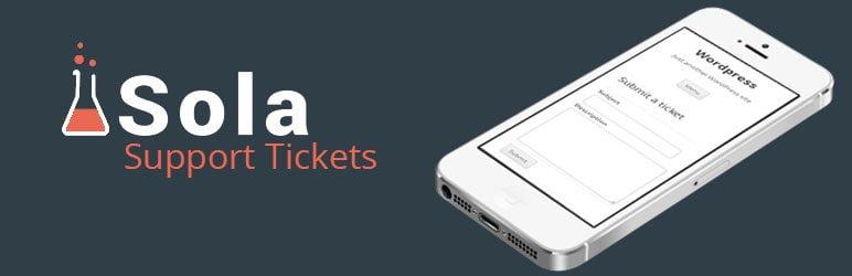 سیستم پشتیبانی Sola Support Tickets