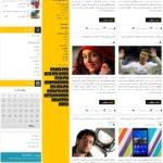 قالب فارسی وردپرس - قالب مجله وردپرس - دانلود قالب