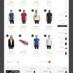 نمایش شبکه ای محصولات در قالب فروشگاهی آدرنالین