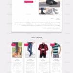 نمایش محصولات ووکامرس در قالب متریال دیزاین وردپرس هِستیا