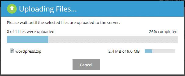بارگذاری / آپلود فایل در پلسک